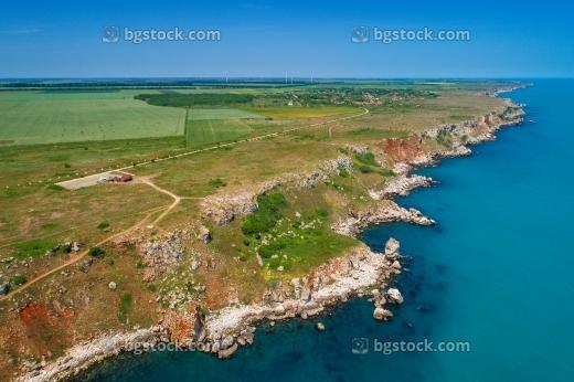 крепости в североизточна българия от високо с дрон