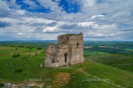 Крепост Букелон от високо с дрон