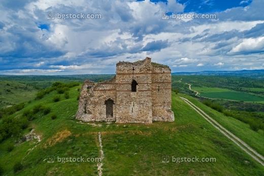 Крепост Маточина от птичи поглед с дрон
