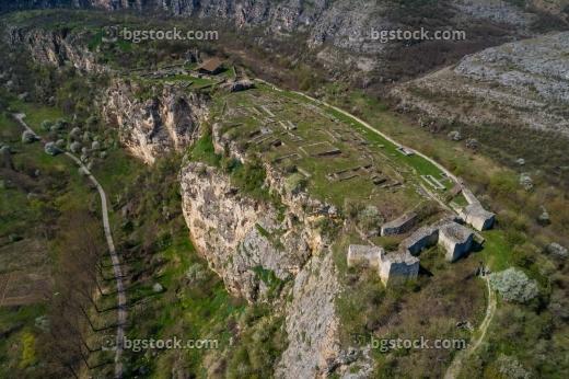 Крепост Червен от птичи поглед